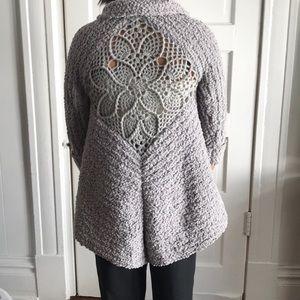 ❄️ Soft Knit Lace Sweater Cardigan Jacket #839❄️